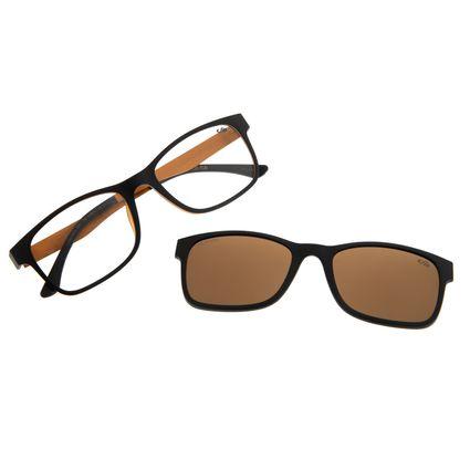 Armação Para Óculos De Grau Masculino Multi Signos Marte Preto LV.MU.0313-0201
