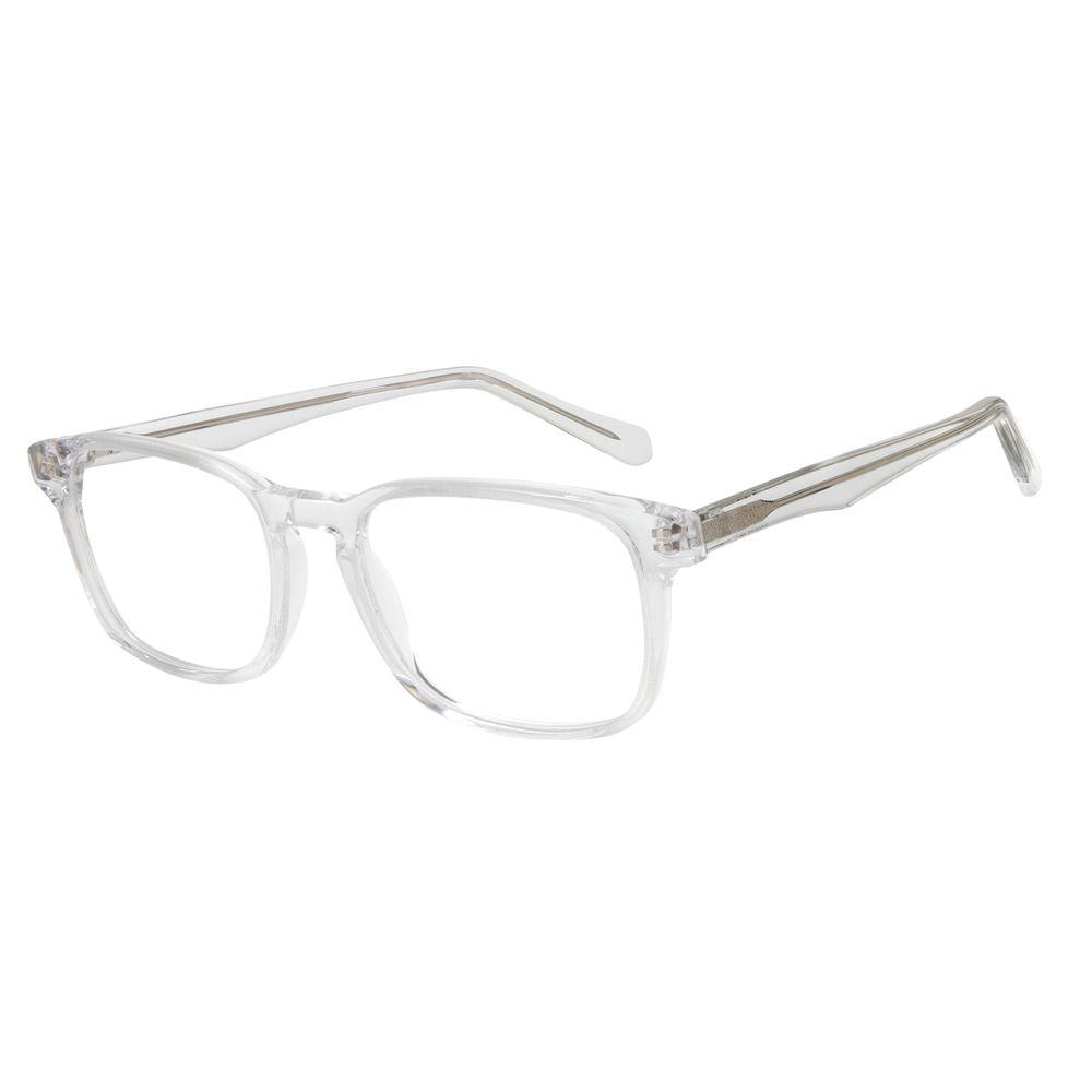 Armação Para Óculos de Grau Unissex Chilli Beans Cristal Transparente LV.AC.0624-3636
