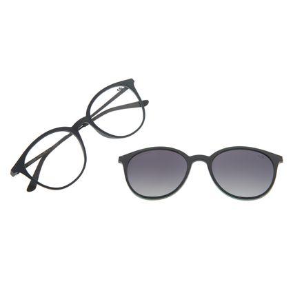 Armação Para Óculos de Grau Unissex Chilli Beans Multi Azul Escuro LV.MU.0146-2090