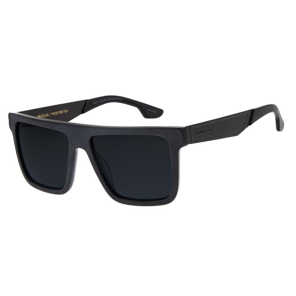Óculos De Sol Masculino Chilli Beans Bossa Nova Fumê OC.CL.2753-0501