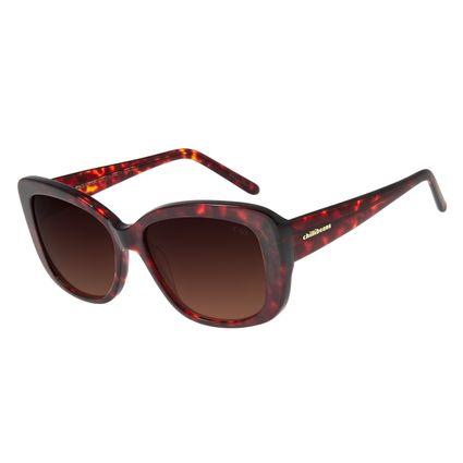 Óculos De Sol Feminino Chilli Beans Quadrado Tartaruga OC.CL.2776-5706