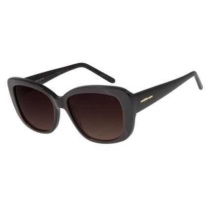 Óculos De Sol Feminino Chilli Beans Quadrado Marrom Escuro OC.CL.2776-5747
