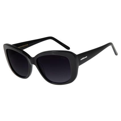 Óculos De Sol Feminino Chilli Beans Quadrado Preto OC.CL.2776-2001