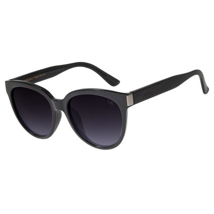 Óculos De Sol Feminino Chilli Beans Redondo Preto OC.CL.2793-2001