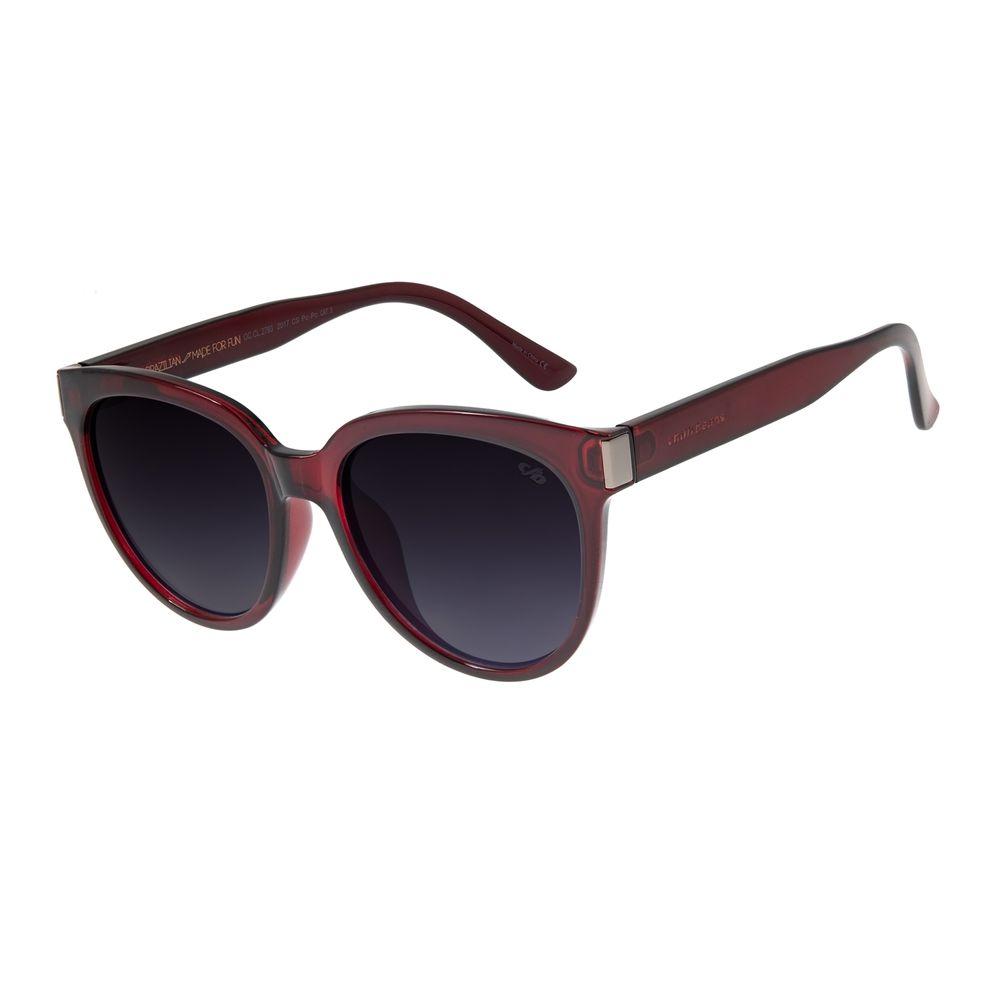 Óculos De Sol Feminino Chilli Beans Redondo Vinho OC.CL.2793-2017