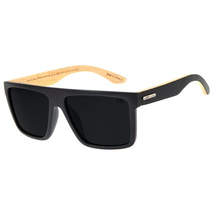 Óculos De Sol Masculino Chilli Beans Bossa Nova Marrom Escuro Polarizado OC.CL.2853-0101