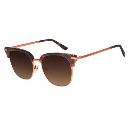 Óculos De Sol Unissex Chilli Beans Jazz Tartaruga OC.CL.2870-5706