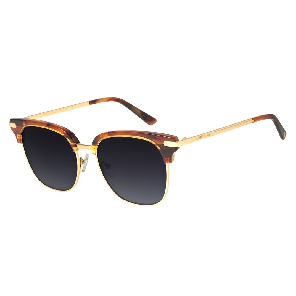 Óculos De Sol Unissex Chilli Beans Jazz Cinza OC.CL.2870-2004