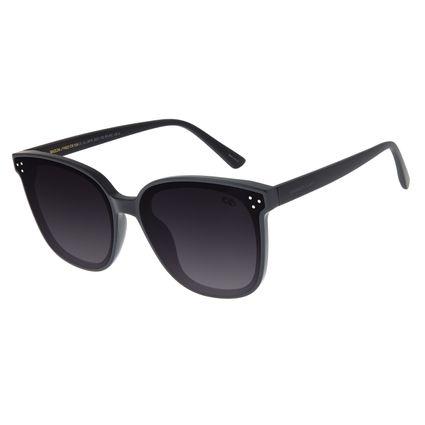 Óculos De Sol Feminino Chilli Beans Quadrado Preto OC.CL.2879-2001