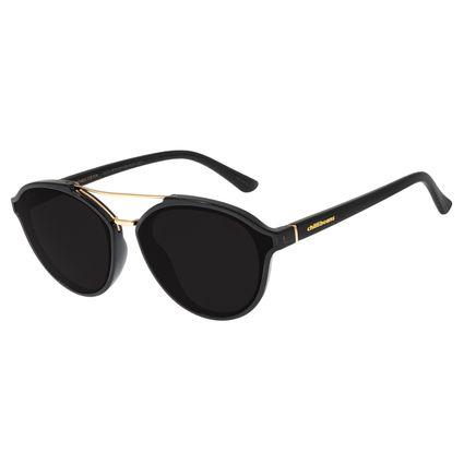 Óculos De Sol Feminino Chilli Beans Quadrado Preto OC.CL.2916-0101