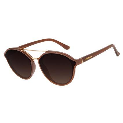 Óculos De Sol Feminino Chilli Beans Quadrado Marrom OC.CL.2916-5702