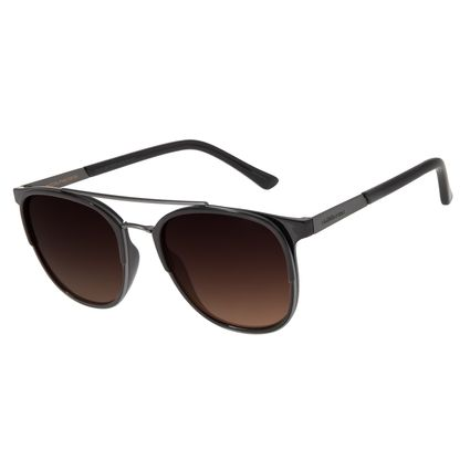 Óculos De Sol Masculino Chilli Beans Bossa Nova Marrom OC.CL.2917-5702