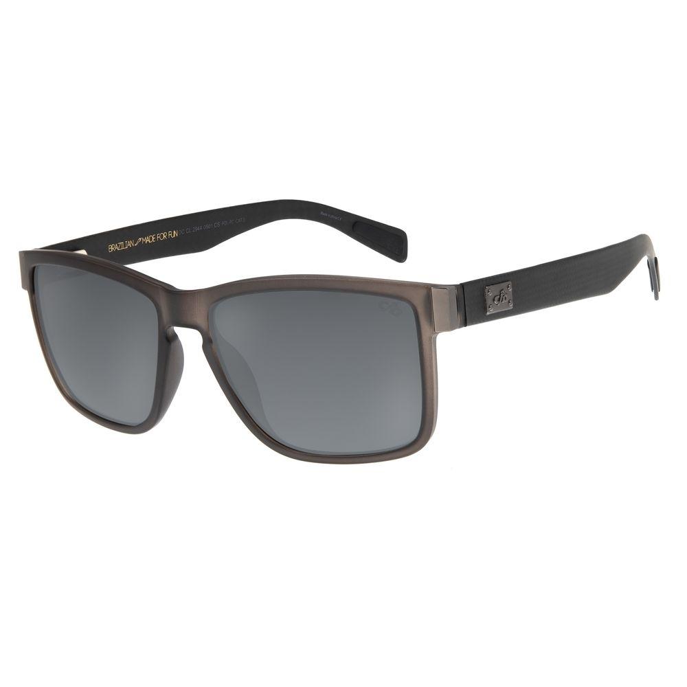 Óculos De Sol Masculino Chilli Beans Bossa Nova Fumê OC.CL.2944-0501