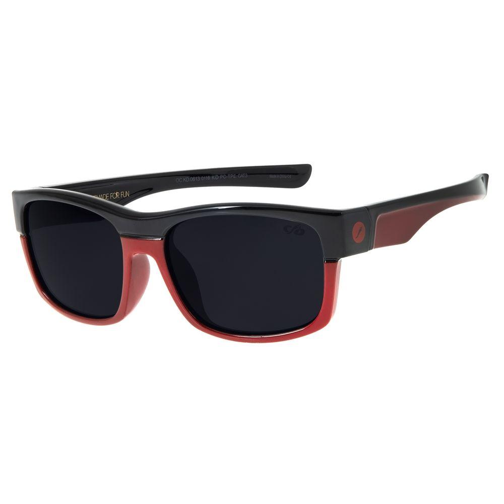 Óculos De Sol Infantil Chilli Beans Vermelho Esportivo OC.KD.0613-0116
