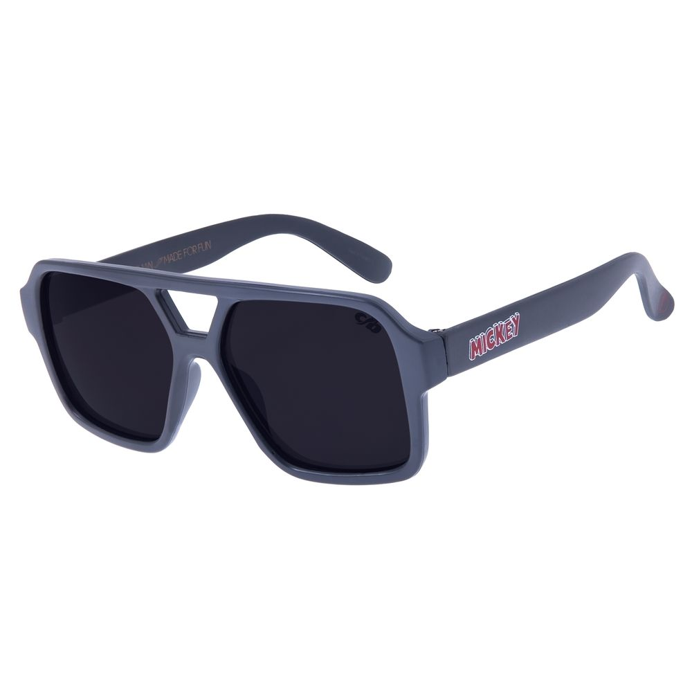 Óculos de Sol Infantil Chilli Beans Aviador Mickey Mouse Azul OC.KD.0623-0108