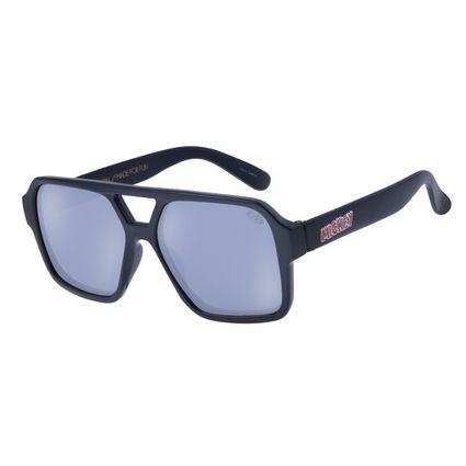 Óculos de Sol Infantil Chilli Beans Aviador Mickey Mouse Preto OC.KD.0623-0001