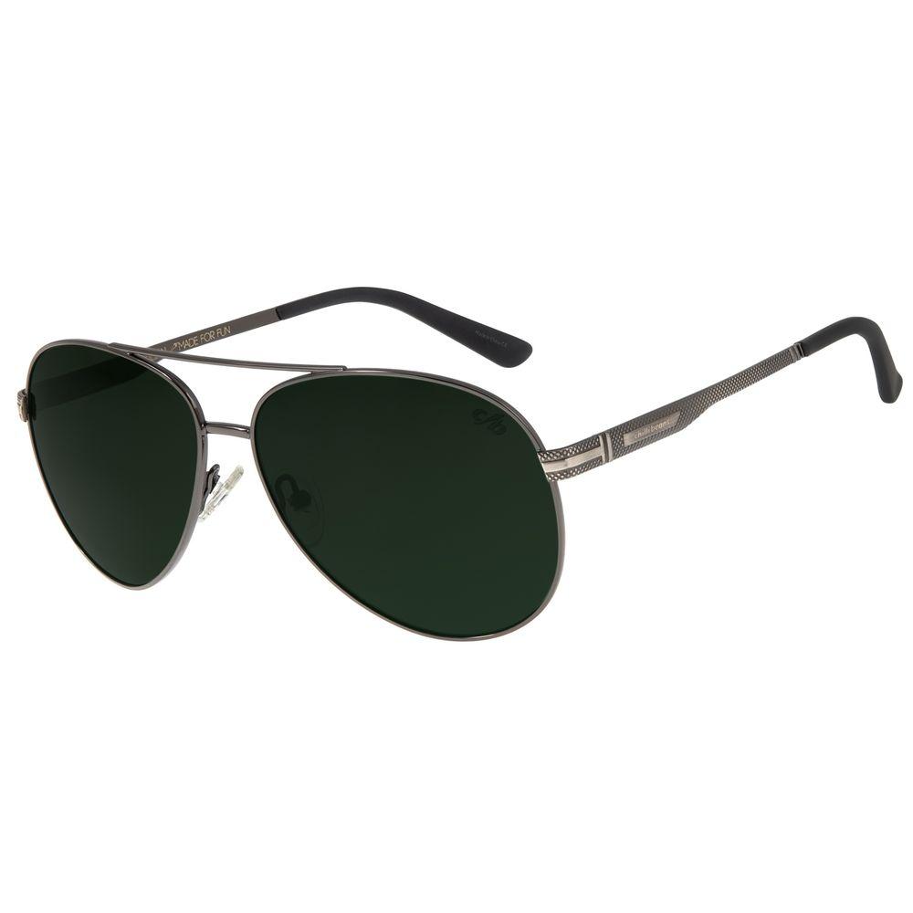 Óculos De Sol Masculino Chilli Beans Aviador Verde OC.MT.2628-1501
