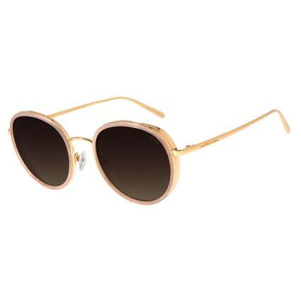 Óculos De Sol Feminino Chilli Beans Banhado A Ouro Dourado OC.MT.2684-5721