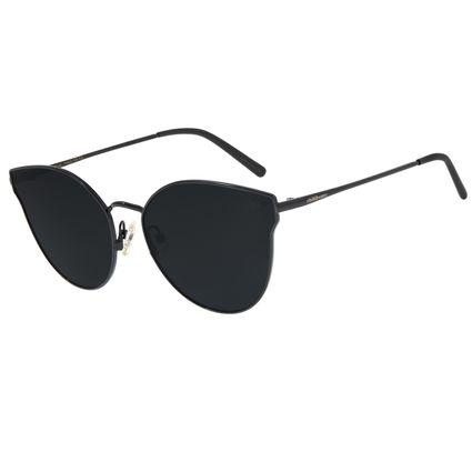 Óculos De Sol Feminino Chilli Beans Gatinho Preto Polarizado OC.MT.2698-2001