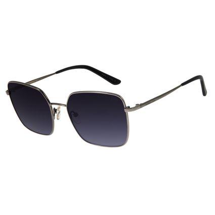 Óculos de Sol Feminino Chilli Beans Quadrado Metal Ônix OC.MT.2706-2022
