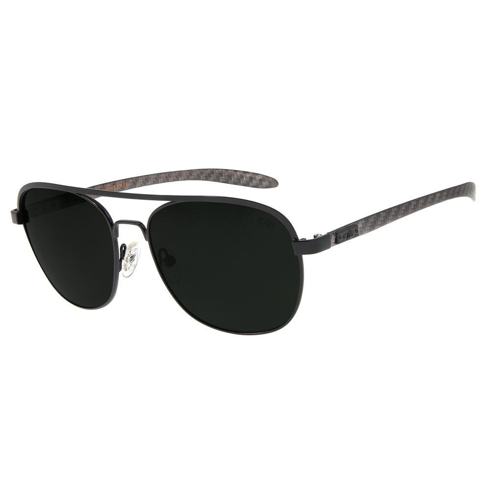 Óculos De Sol Masculino Chilli Beans Executivo Verde OC.MT.2728-1501