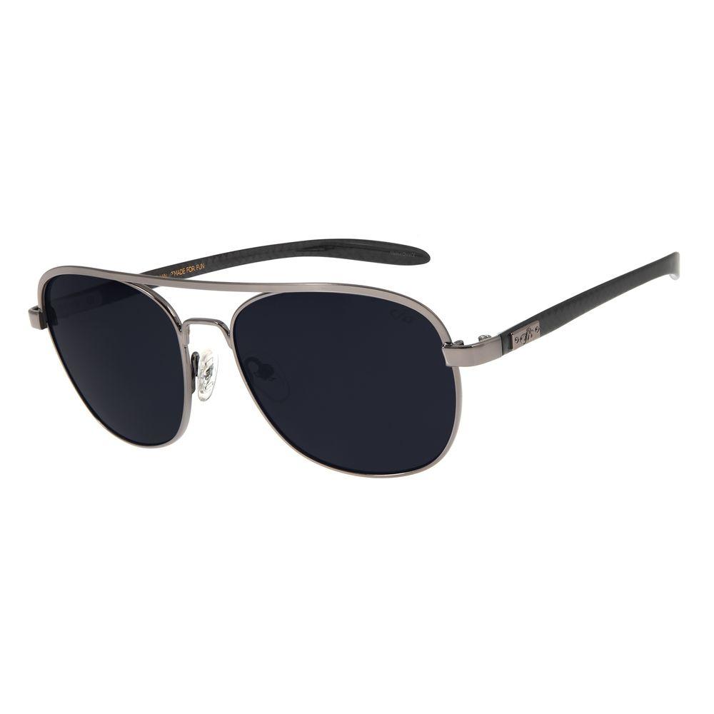 Óculos De Sol Masculino Chilli Beans Executivo Ônix OC.MT.2728-0122