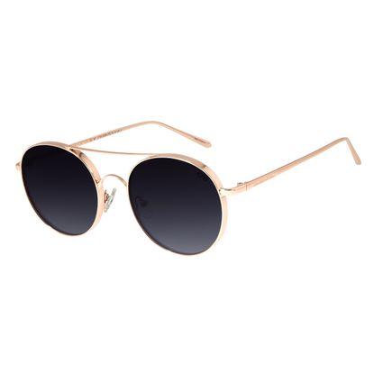 Óculos De Sol Unissex Chilli Beans Banhado A Ouro Degradê OC.MT.2734-2095