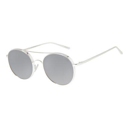 Óculos De Sol Unissex Chilli Beans Banhado A Ouro Espelhado OC.MT.2734-3207