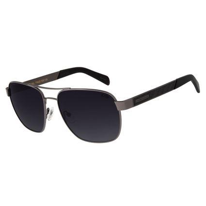 Óculos De Sol Masculino Chilli Beans Executivo Polarizado Ônix OC.MT.2755-2022