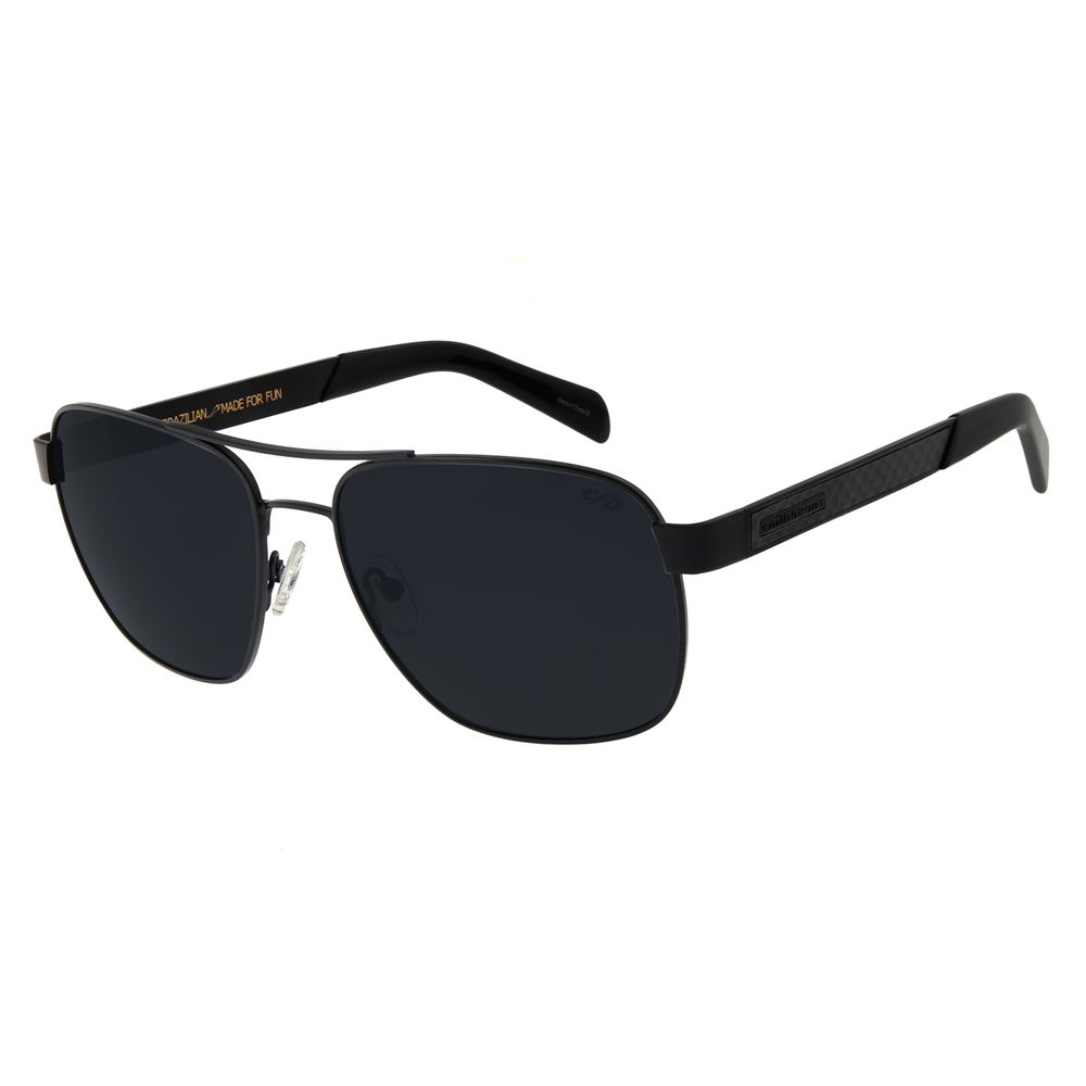Óculos De Sol Masculino Chilli Beans Executivo Polarizado Preto OC.MT.2755-2001