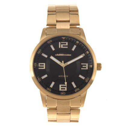 Relógio Analógico Masculino Chilli Beans WR 5ATM Dourado RE.MT.0893-0121