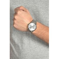 Relógio Analógico Masculino Chilli Beans Metal Fosco Prata RE.MT.0912-0707.4