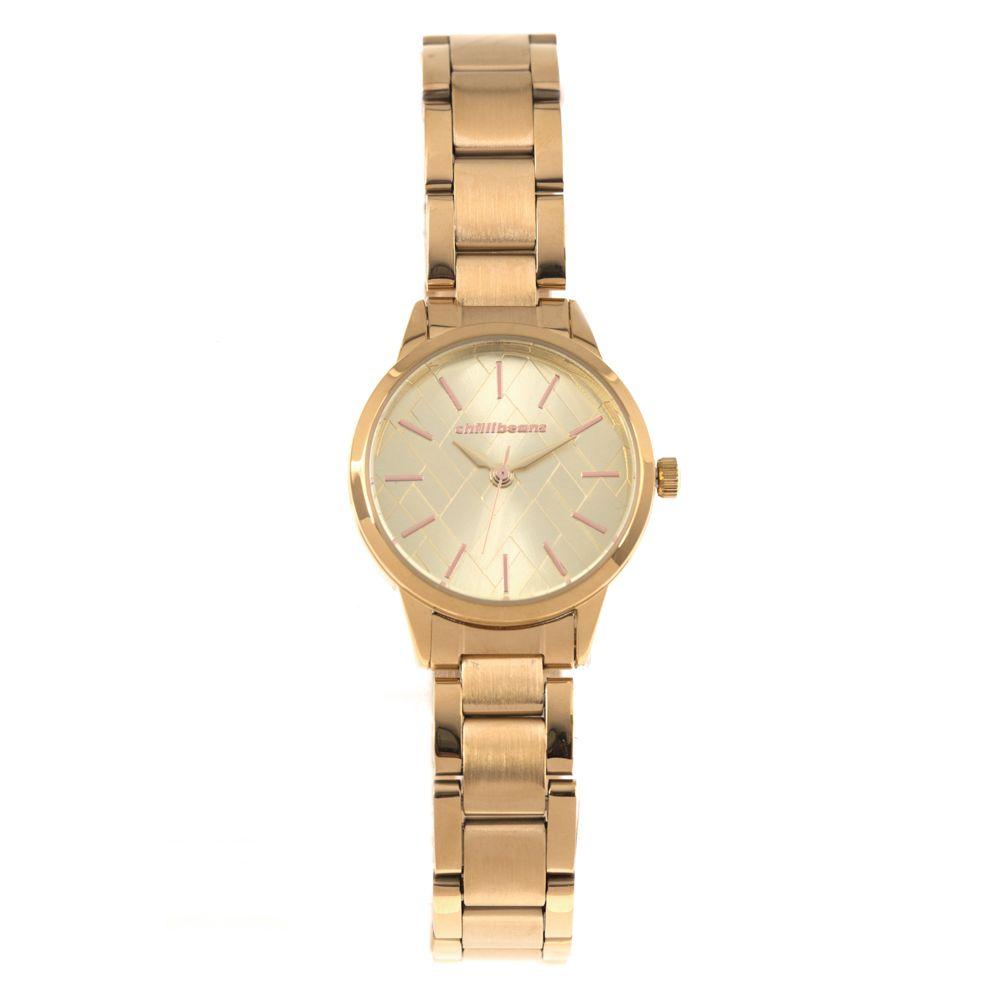 Relógio Analógico Feminino Chilli Beans Metal Dourado RE.MT.0920-2121