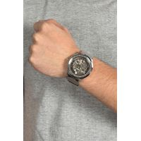 Relógio Automático Masculino Chilli Beans Metal Brilho Prata RE.MT.0935-1907.4