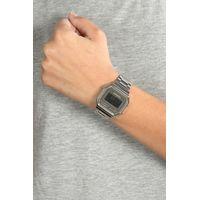 Relógio Digital Feminino Chilli Beans Metal Quadrado Prata RE.MT.0945-0707.4
