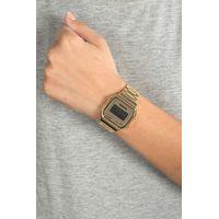 Relógio Digital Feminino Chilli Beans Metal Quadrado Dourada RE.MT.0945-2121.4