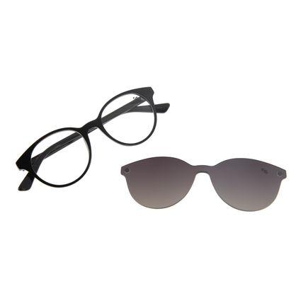 Armação Para Óculos de Grau Feminino Chilli Beans Multi Redondo Escuro LV.MU.0114-2038