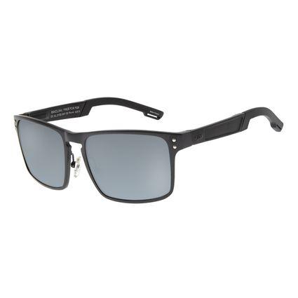 Óculos de Sol Masculino Chilli Beans Essential Polarizado Fosco OC.AL.0105-0031