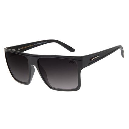 Óculos de Sol Unissex Chilli Beans Quadrado Essential Preto OC.CL.1058-2822