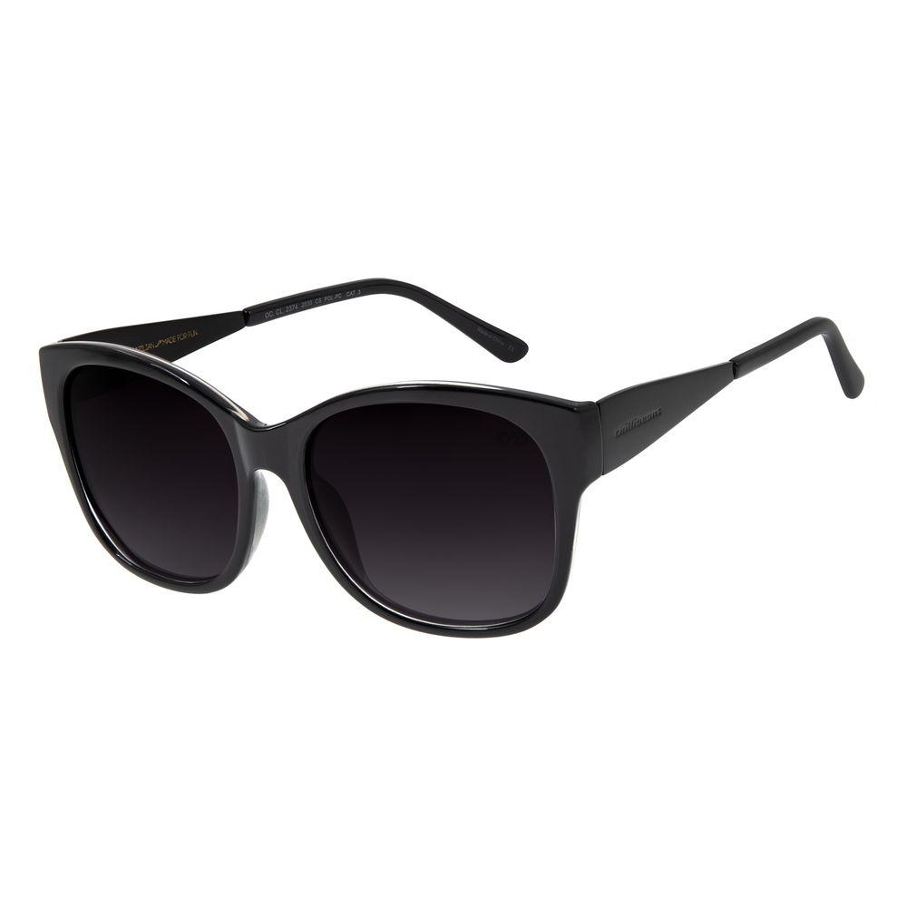 Óculos de Sol Feminino Chilli Beans Quadrado Brilho Polarizado OC.CL.2374-2030