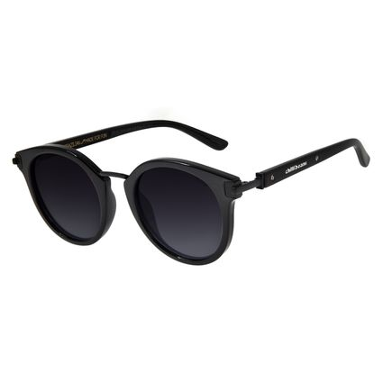 Óculos de Sol Feminino Chilli Beans Redondo Preto Polarizado OC.CL.2514-2001