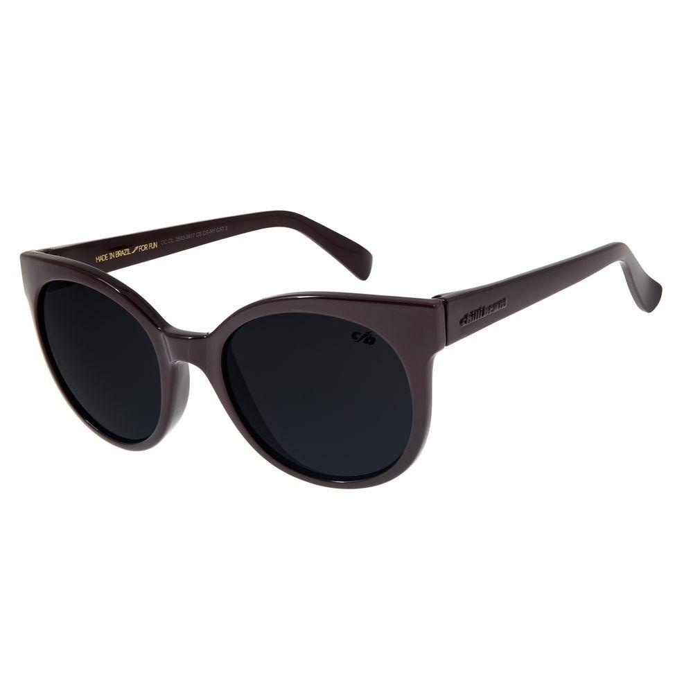 Óculos de Sol Feminino Chilli Beans Redondo Vinho OC.CL.2643-0417