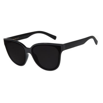 Óculos de Sol Feminino Chilli Beans Redondo Cristal Brilho OC.CL.2707-0130