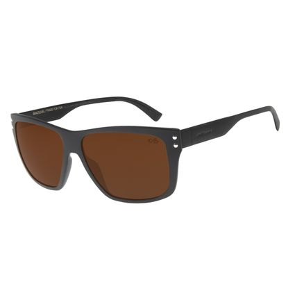 Óculos de Sol Masculino Chilli Beans Bossa Nova Marrom OC.CL.2848-0201