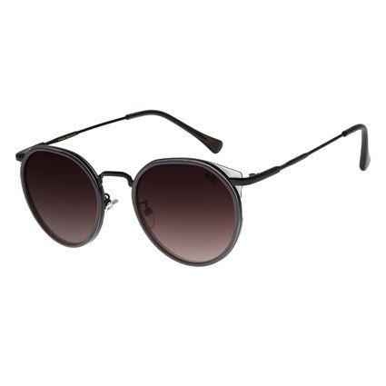 Óculos de Sol Feminino Chilli Beans Redondo Preto OC.CL.2866-2001