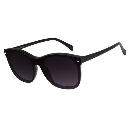 Óculos de Sol Feminino Chilli Beans Quadrado Preto OC.CL.2881-2001
