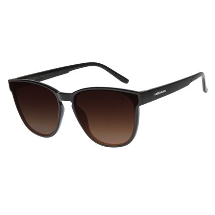 Óculos de Sol Feminino Chilli Beans Quadrado Preto OC.CL.2885-5701