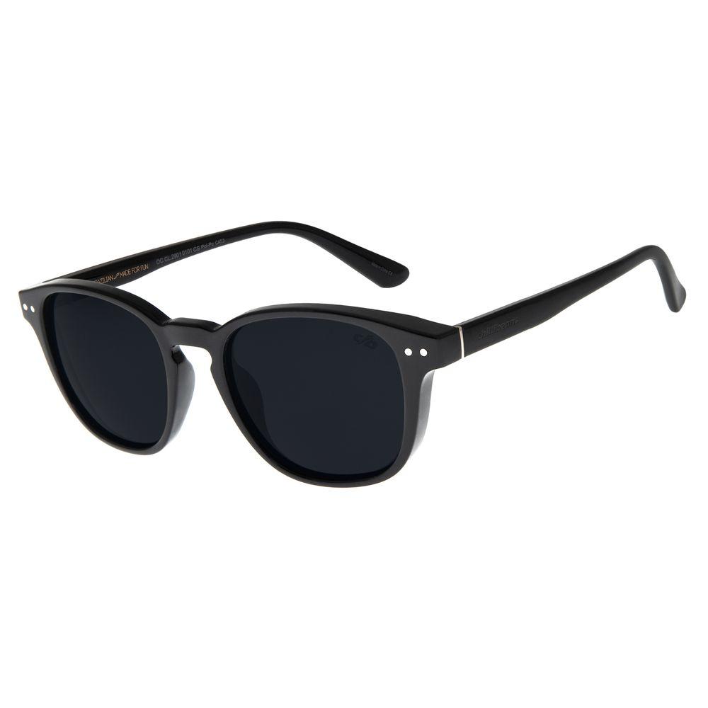 Óculos de Sol Masculino Chilli Beans Bossa Nova Preto OC.CL.2901-0101