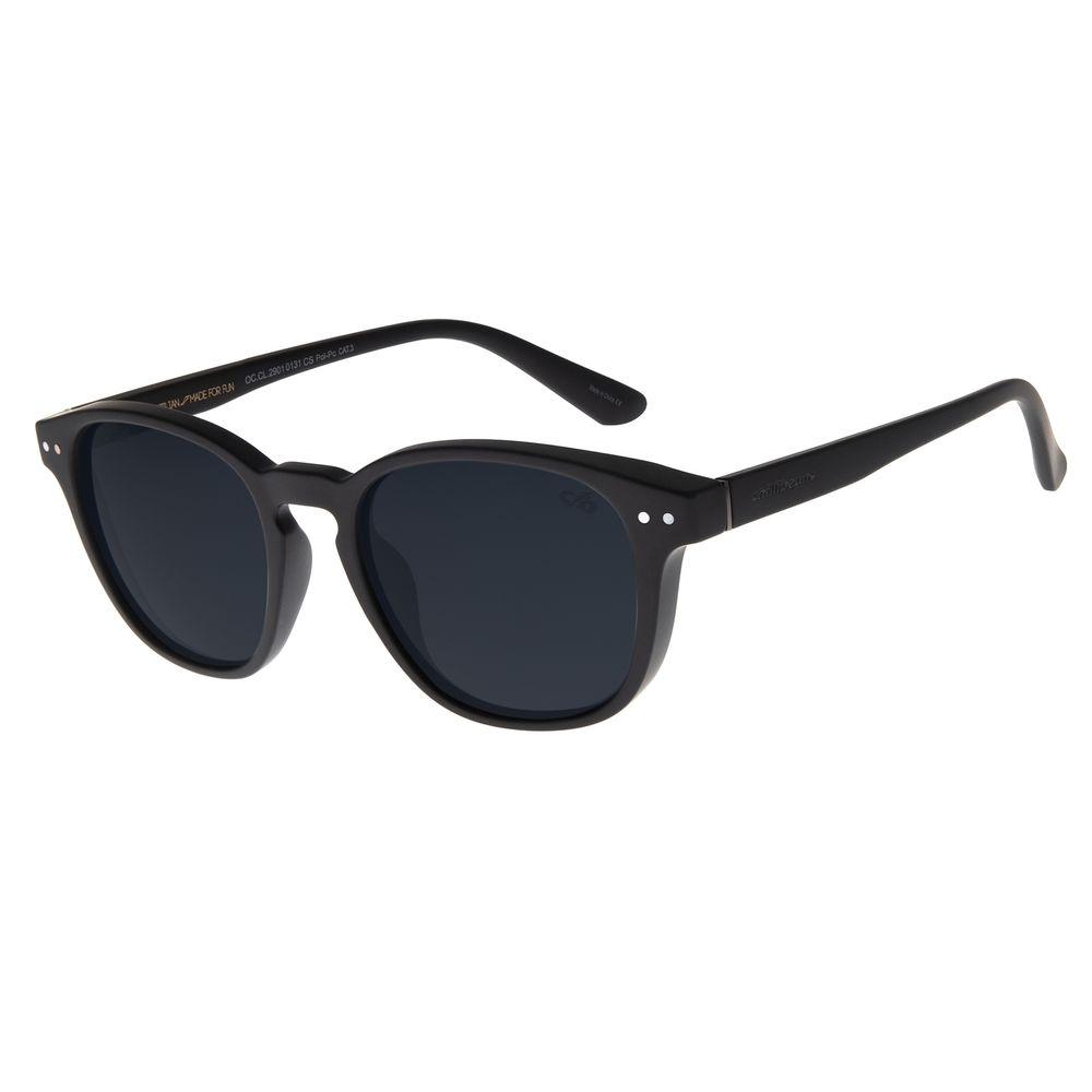 Óculos de Sol Masculino Chilli Beans Bossa Nova Fosco Polarizado OC.CL.2901-0131