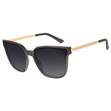 Óculos de Sol Feminino Chilli Beans Quadrado Preto OC.CL.2919-2001